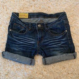 Cutoff Shorts - Machine Brand